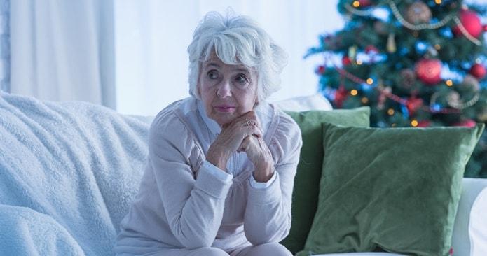 Senior Holiday Depression