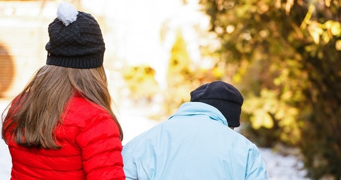 Walk with Senior Winter